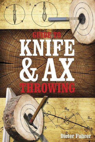 "Cover of the book ""Guide to knife and ax throwing"" by Dieter Führer. Shown with the friendly permission of the publisher."